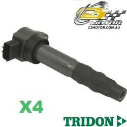 Tridon Ignition Coil X4 For Grandis Ba 35u Na4w 05/04-06/10 4 2.4l 4g69