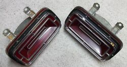 1970 Ford Galaxie 500 Xl Tail Light Assembly Sae Tsia 70fd Fits L-h And R-h
