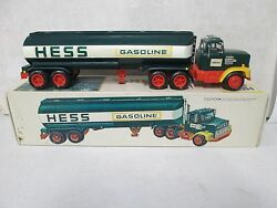 1977 Hess Truck Red Switch W/ Box Insert And Battery Installation Card 3