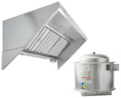 Hoodmart 12and039 X 30 Type 1 Commercial Concession Trailer Hood - Food Truck Hood