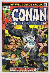 Conan The Barbarian 36 Vf Owp Complete 1974 1st Print Marvel Comics Pwc