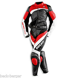 Ducati Dainese Corse Women's Leather Combination Estate Leather Suit Lady New