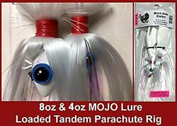 Blue Water Candy - Rock Fish Candy 8 Oz And 4 Oz Mojo Lure Loaded W/ 9 Shads