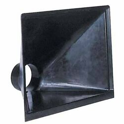 Dust Hood 13x16in Opening Wood Chip Saw Collector Accessory Plastic Work Shop