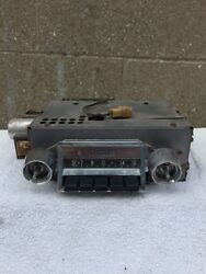 Used 1957 Chevy Bel Air Delco Am Radio Core For Parts 7269719
