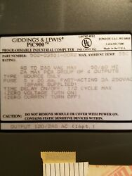 Giddings And Lewis Output Card Digital 120 V Ac 16 Point Pic900 502-03551-00r2
