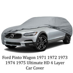 Ultimate Hd 4 Layer Car Cover For Ford Pinto Wagon 1971 1972 1973 1974 1975