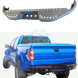 1PC Metal Car Part For Ford F-150 Rear Bumper Protector Body Kit Exterior