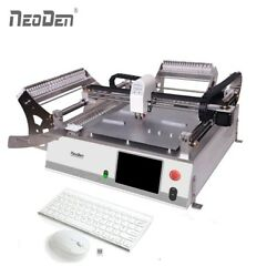 Low Cost Pick and Place Machine with Vision NeoDen3V-Adv 10 IC Tray Prototype