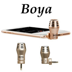 BOYA BY-A100 OmniDirectional Condenser Shotgun Mic Microphone Gopro iPhone DSLR