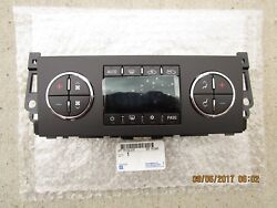 08 - 09 HUMMER H2 A/C HEATER CLIMATE TEMPERATURE CONTROL NEW OEM P/N 20777073