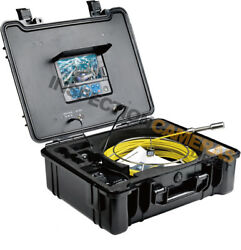 30m Recordable Drain And Duct Inspection Camera Optional On-screen Meterage