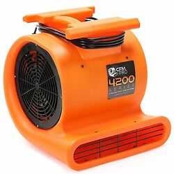 Brand New Cfm Pro Air Mover And Carpet Dryer Blower Fan - 1 Hp - 4,200 Series