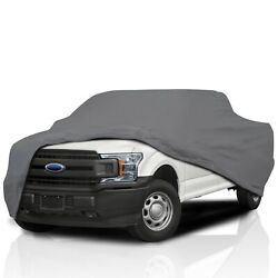 [csc] Waterproof Semi Custom Full Truck Cover For Ford F-150 All Size 2015-2021