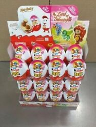 Kinder Eggs Joy With Surprise Toy And Chocolateandnbsp24 Girls Free Shipping
