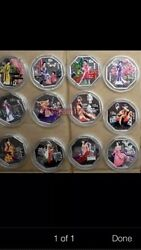 12pc China 2000-03 Dream Of Red Mansions Silver Coins