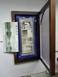 4pc 1998 China Guilin View Silver Coins Set