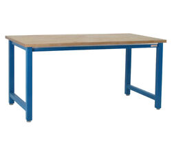 Benchpro K Solid Maple 36d X 120w Production Table Industrial Workbenches
