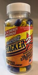 Stacker 100ct Extreme Fat Burner New/sealed Free Fast Shipping Stacker