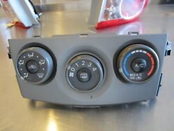 GSL611 CLIMATE CONTROL HVAC ASSEMBLY  2011 TOYOTA COROLLA 1.8