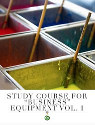 Study Course – Carved Candles For Business Equipment