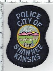 City Of Shawnee Police Kansas Uniform Take-off Patch From The 1980's