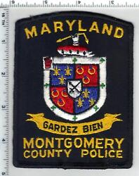 Montgomery County Police Maryland 1st Issue Shoulder Patch