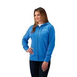 Womenand039s Full Zip Classic Hoodie - Blue By Polaris Slingshot 2868714__