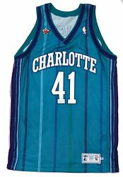 Glen Rice Game Worn 1998 NBA All-Star Game Three Point Contest Jersey LOA Used