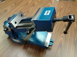 6 Sine Vise, Angle Vise Heavy Duty W. Swivel Base,6-1/2 Opening 850-qzx160-new
