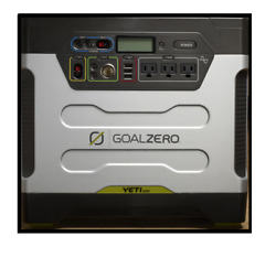 GOAL ZERO YETI 1250 PORTABLE SOLAR GENERATOR 110V AC POWER STATION #GZ23001