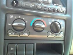 Climate AC Temperature Control Dash Mounted Control Fits 97-99 SILHOUETTE 116022