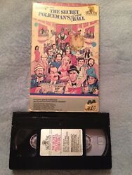 The Secret Policeman's Other Ball 1982 - Vhs Tape - Comedy - Monty Python