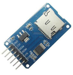 50pcs Micro Sd Card Andsdhc Mini Tf Card Reader Module Spi Interfaces For Arduino