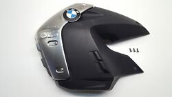 Left Tank Lateral Shroud Cover & Alloy Trim Badge Panel for BMW R1200GS R 1200 G