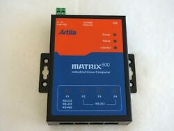 Atmel At91rm9200 Arm9 Linux Box, Usb Host/device, Net   0 To 70c