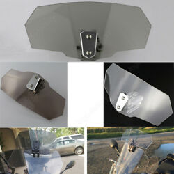 Windscreen Deflector Extension Wind Screen Spoiler Fit For Bmw R1200gs Lc Gray