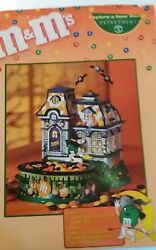 Dept 56 Halloween Mandmand039s Haunted House Tours Lighted House And Candy Dish 59320