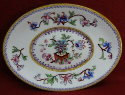 Royal Worcester China 5969 Multicolor Flowers China Gravy Boat Underplate Only