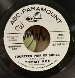 Tommy Roe Fourteen Pair Of Shoes Rare Promo 45 Plays Vg++ No Noise