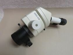 Leica Mz6 Inspection Stereo Microscope W/ F=100mm Objective And Vertial Incident I