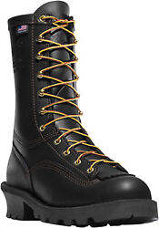 New In Box Danner Men's Flashpoint Ii Black Leather Work Boots 18102 9 Dm Us
