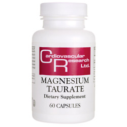 Cardiovascular Research Magnesium Taurate 125 Mg 60 Caps