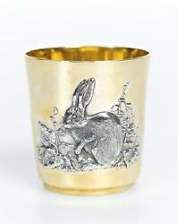 Silver Glass With Chinese Zodiac Horoscope Astrology Signs Ofrabbit
