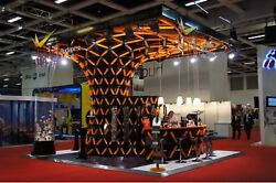 Custom Exhibition Stand (Budapest Airport) REAL STEEL DESIGN LLc.