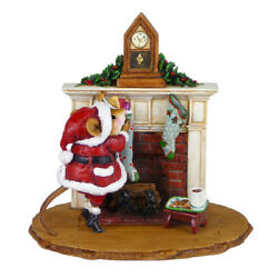 Wee Forest Folk Christmas M-471 - A Visit From St. Nick