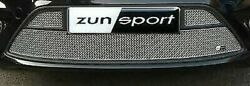 Zunsport Front Lower Grille Silver For Ford Focus St My08 2008-10 Zfr30708