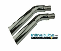 1970 Trans Am Stainless Steel Chrome Exhaust Extension Rear Tail Pipe Tips