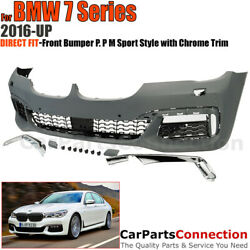 M Sport Style Front Bumper Cover Conversion for 2016-2019 BMW G11 G12 740i 750i