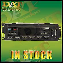 02 03 04 Ford F150 AC Heater Digital Climate Control non heated black glass